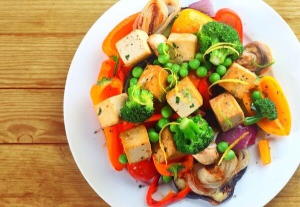 Sauté de légume et tofu à l'asiatique - 2 personnes