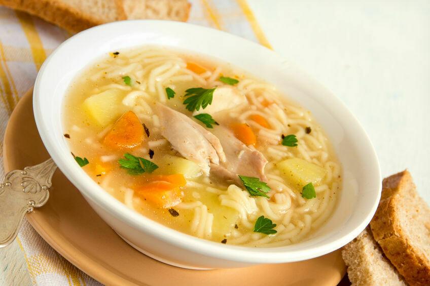 Soupe poulet et nouilles 1L