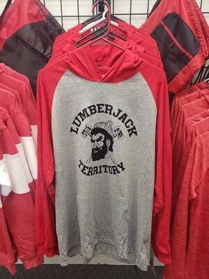 Lumberjack Spiritwear - Russell Athletic Red/Grey with hood