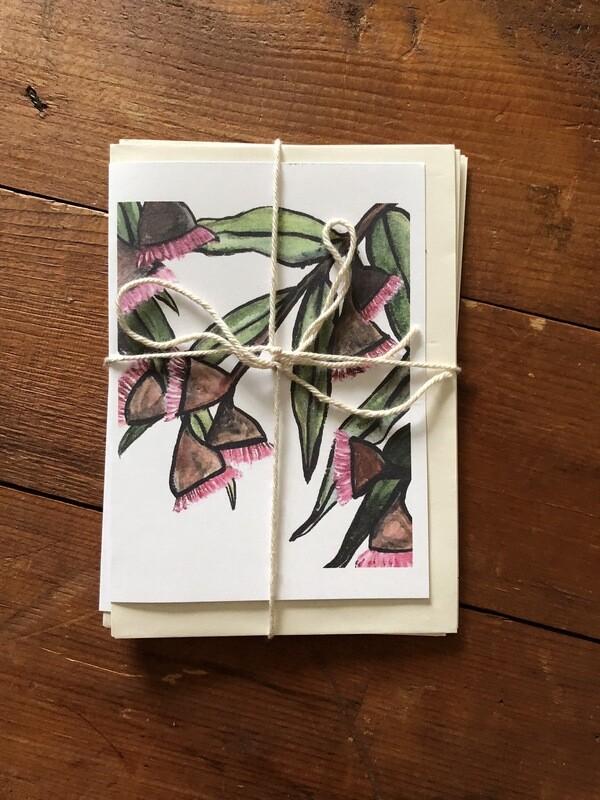 Australian Native Flowers Card Set