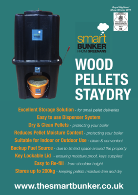 Wood Pellets Storage Solution