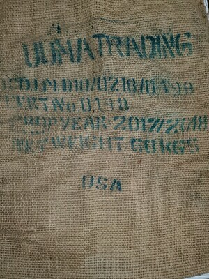 Coffee Sack, Burlap