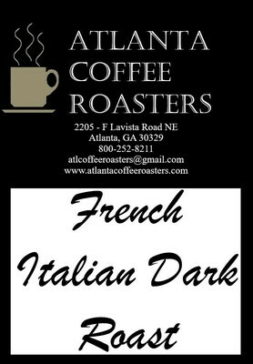 French Italian Dark Roast - Espresso Blend