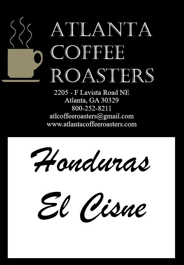 "Honduras El Cisne ""Black Swan"" - 450 Vienna Roast"