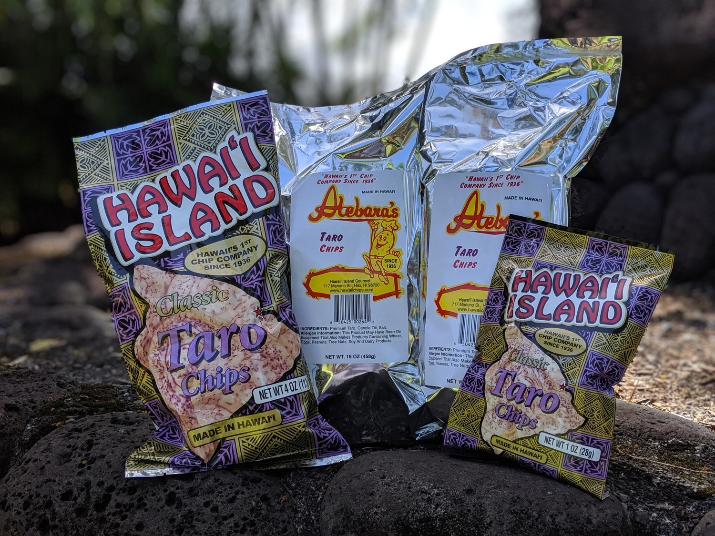 Hawai'i Island Taro Chips