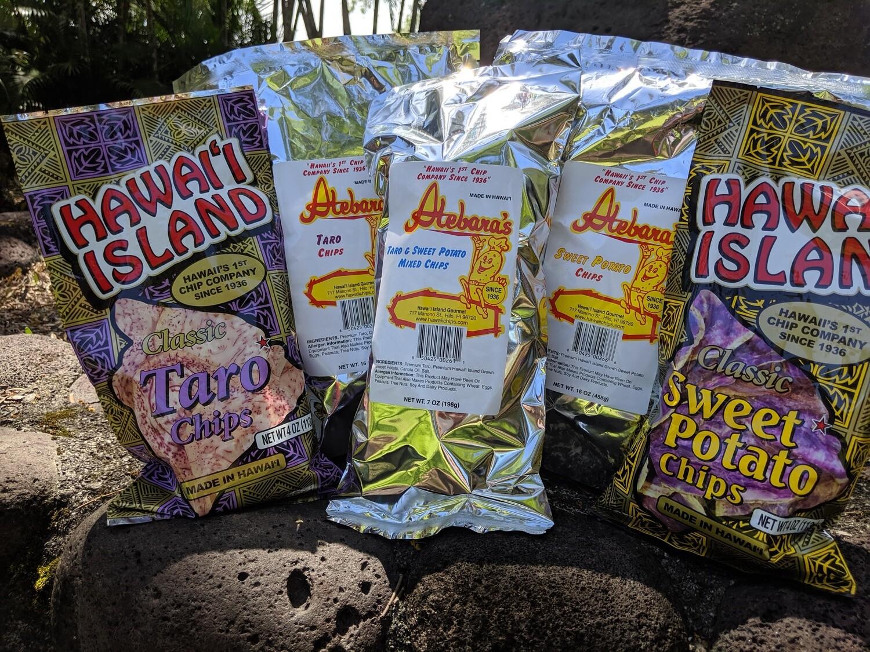 Taro & Sweet Potato Mixed Chips