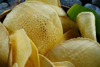 Garlic Salt 'Ulu (Breadfruit)