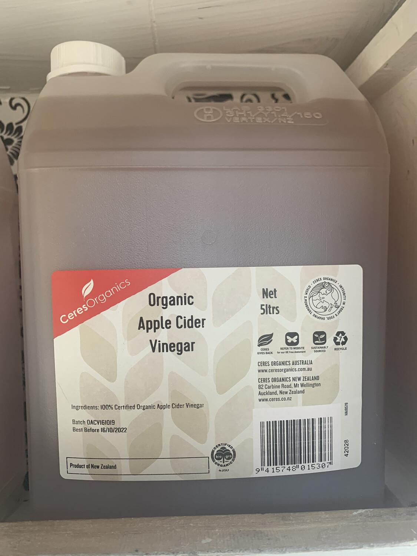 Bulk Un-Pasteurised Organic Apple Cider Vinegar