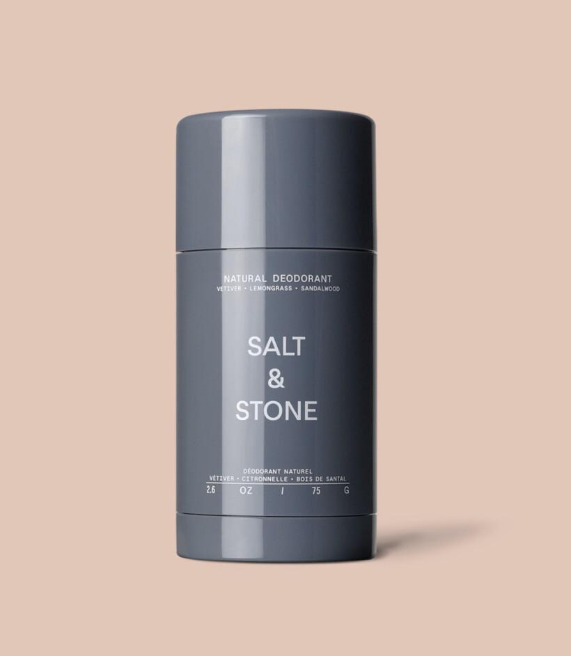 Salt And Stone Organic Vetiver- Lemongrass- Sandalwood Deodorant