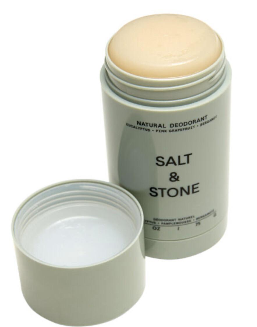 Salt And Stone Organic Eucalyptus- Pink Grapefruit - Bergamot Deodorant