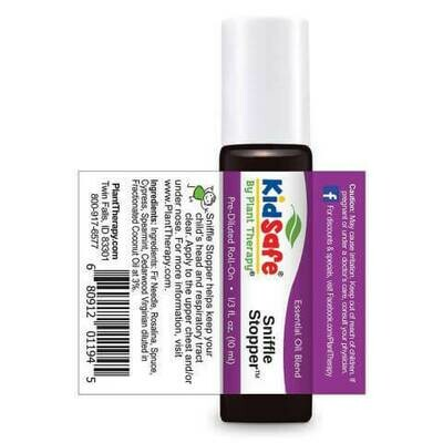 Essential oil- Plant Therapy Kidsafe- Sniffle Stopper