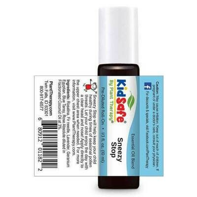 Essential oil- Plant Therapy Kidsafe- Sneezy Stop