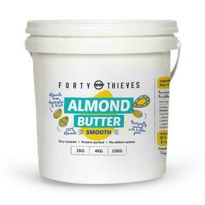 Bulk Crunchy Almond Butter- FORTY THIEVES