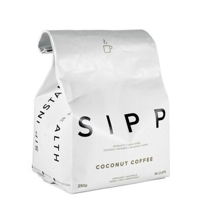 SIPP Instant Organic Coconut Coffee