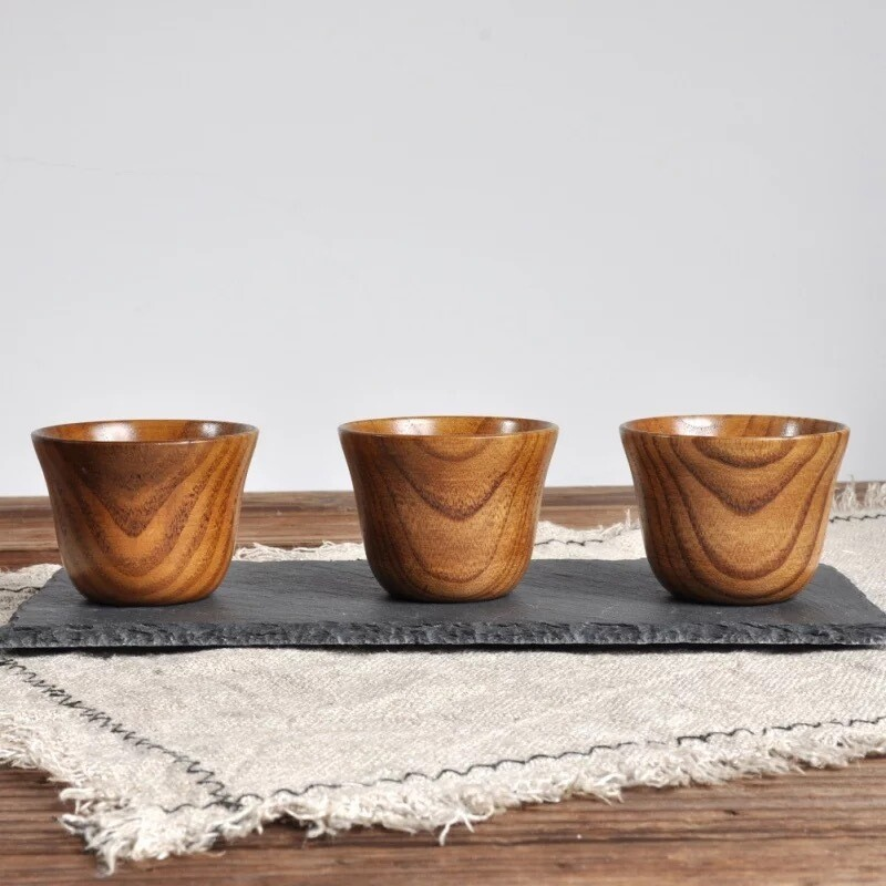 Jujube Wooden Cups