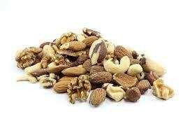 Bulk Organic (transitional) Mixed Nuts -Brazil Nuts, Almonds, Cashews, Walnut Halves