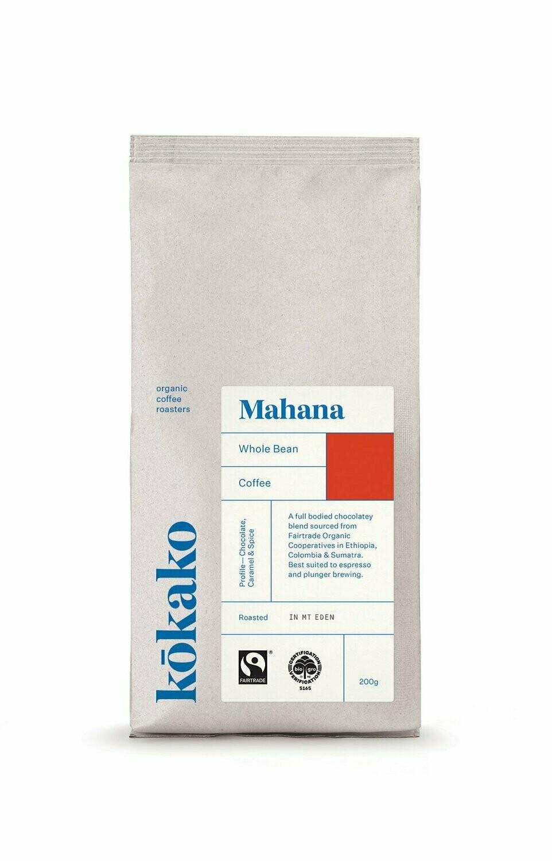 Kokako Organic Coffee Mahana
