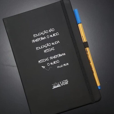 Caderno A5 Paulo Freire