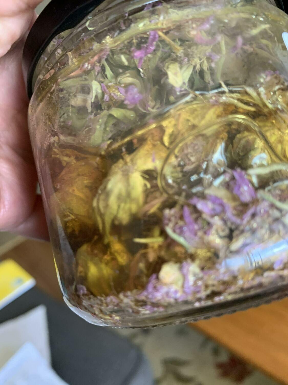 Monarda Infused Medicinal Honey