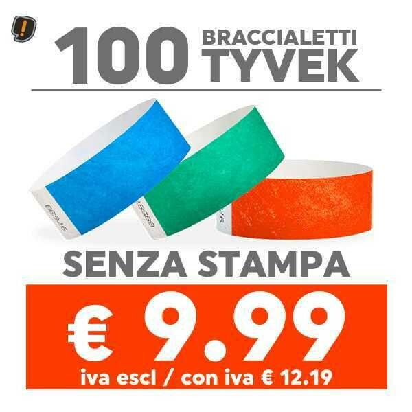 100 Braccialetti Tyvek®