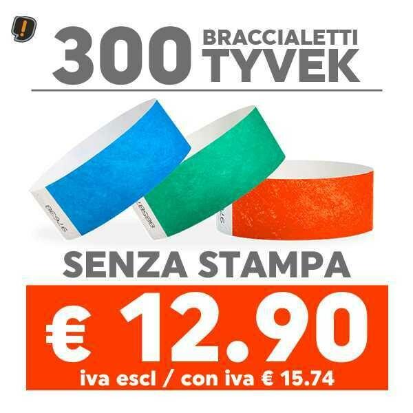300 Braccialetti Tyvek®