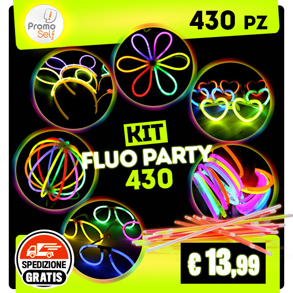KIT FLUO PARTY 430