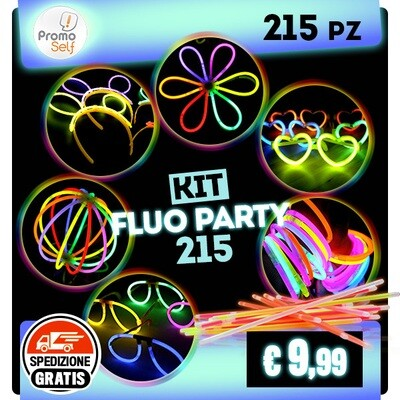 KIT FLUO PARTY 215