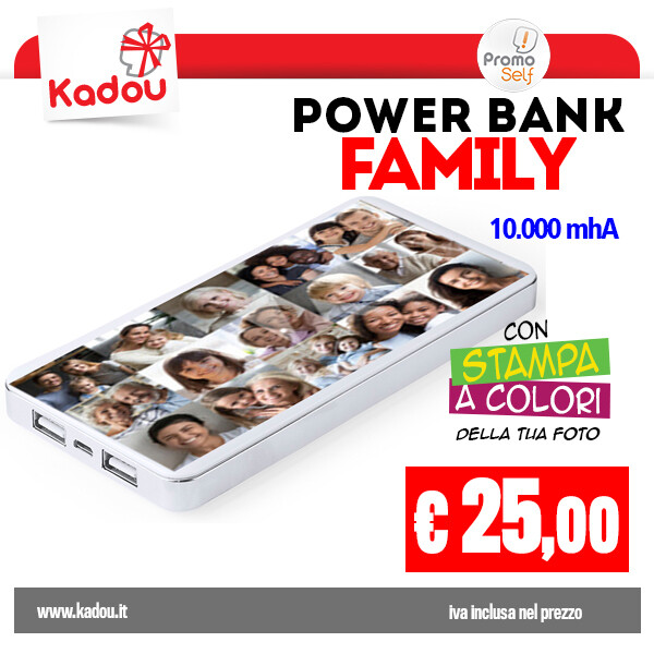 POWER BANK 10.000 mAh | FAMILY