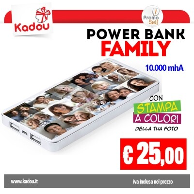 POWER BANK 10.000 mAh   FAMILY