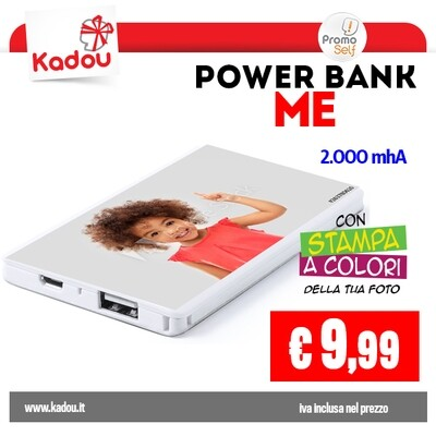 POWER BANK 2.000 mAh | ME