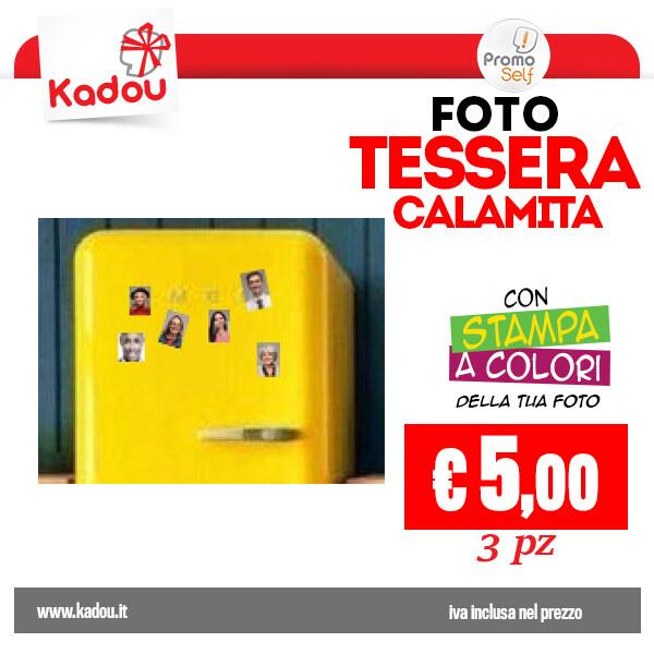 FOTO TESSERA CALAMITATE 3pz