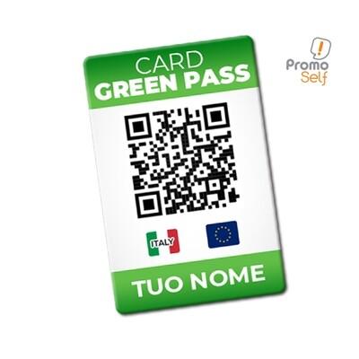 GREEN PASS CARD