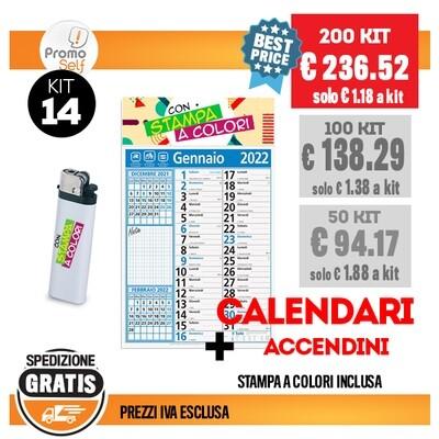 KIT 14 | CALENDARI + ACCENDINO
