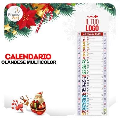 MULTICOLOR | calendario olandese