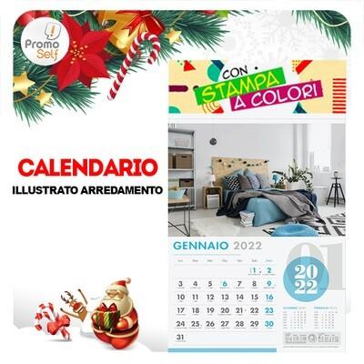 ARREDAMENTO | calendario illustrato