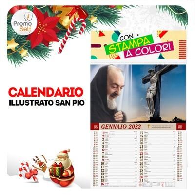 SAN PIO | calendario illustrato