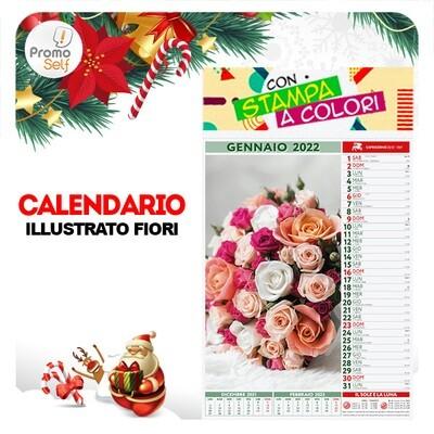 FIORI | calendario illustrato