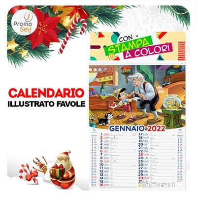 FAVOLE | calendario illustrato