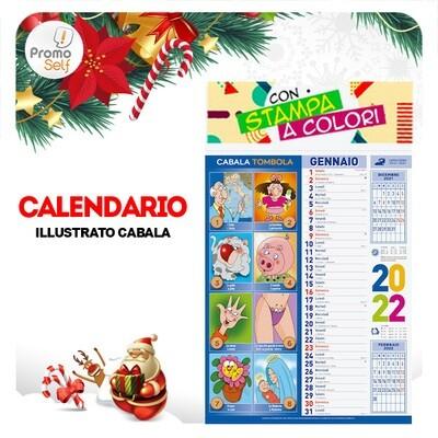 CABALA | calendario illustrato