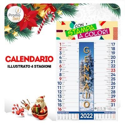 4 STAGIONI | calendario illustrato