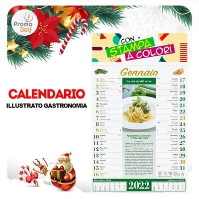 GASTRONOMIA | calendario illustrato