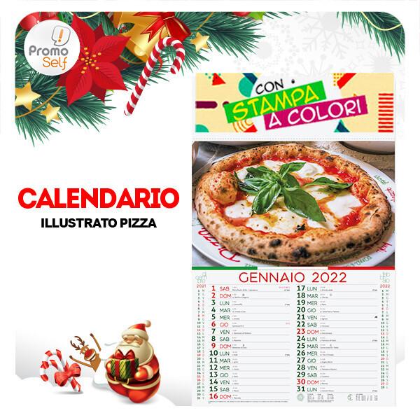 PIZZA | calendario illustrato