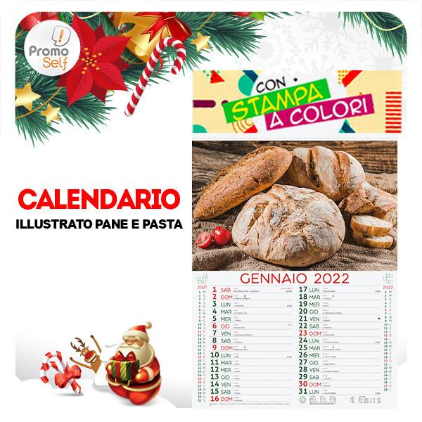 PANE E PASTA | calendario illustrato