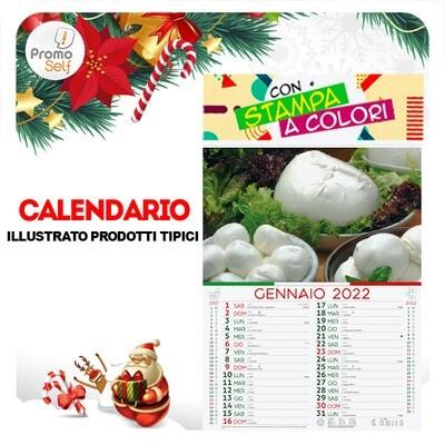 PRODOTTI TIPICI | calendario illustrato