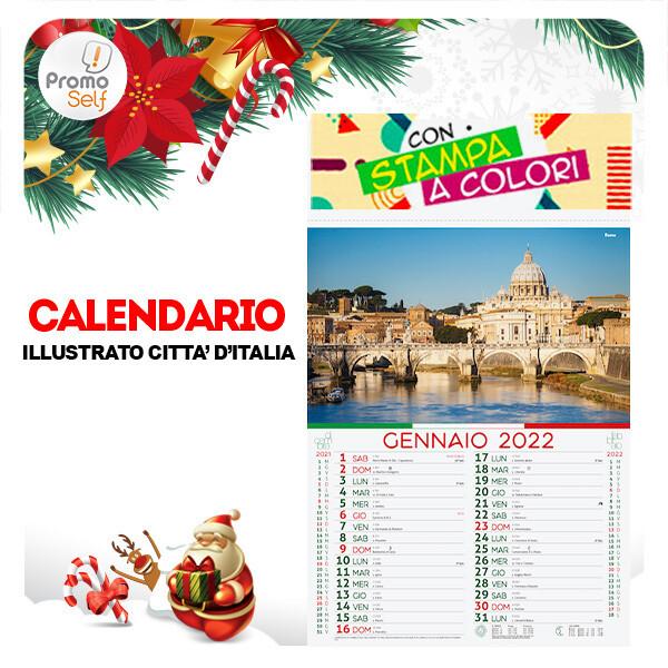 CITTA' D'ITALIA   calendario illustrato