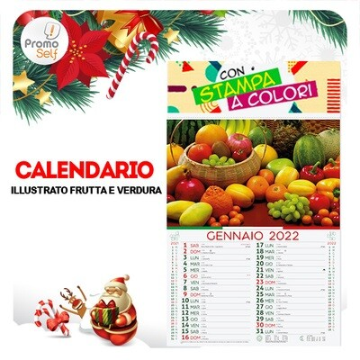 FRUTTA E VERDURA | calendario illustrato