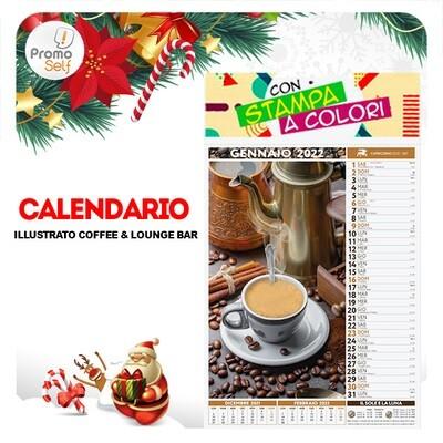 COFFEE & LOUNGE BAR | calendario illustrato