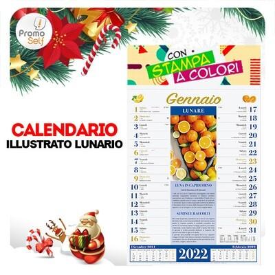 LUNARIO | calendario illustrato
