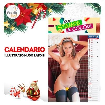 NUDO LATO B | calendario illustrato