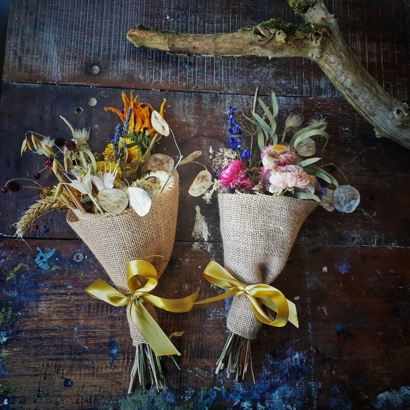 Scented Dried Flower Bunch